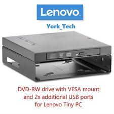 More details for lenovo tiny thinkcentre dvd-rw vesa mount m72 m73 m92 m93 m83 m900 m700 03t9717