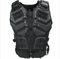 Black Outdoor Military Games Tactical Combat Vest special operations Protective