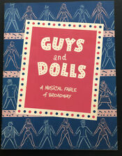 Guys And Dolls 1953 Broadway Souvenir Booklet