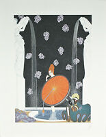 """""""Bath of the Marque"""" by Erte Signed Artist's Proof AP Lithograph 24""""x18 1/2"""""""