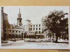 c1955 RPPC - The Courtyard - Civic Hall - Leeds