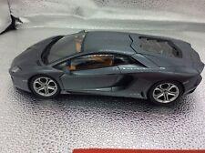Lamborghini Aventador LP700-4, grey, grigio estoque, gris, AUTOART 1:18, DIECAST
