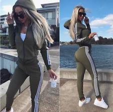 Damen Trainingsanzug Hausanzug Hoodie Sweatshirt Sport Hose Jogginganzug Fitness