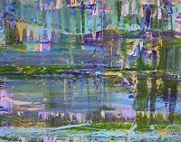 NEW Modern ABSTRACT Original Art PAINTING Artist DAN BYL Acrylic Large 4 x 5ft