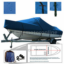 Maxum 2100 SC 2100SC Cuddy Cabin I/O Trailerable All Weather Boat Cover Blue