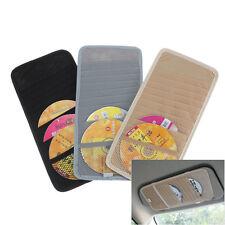 12 Disc Auto Car CD DVD Visor Card Case Holder Clipper Organizer Bag 30*14.5cm