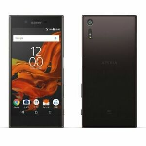 SONY XPERIA XZ SOV34 AU KDDI Android Phone Smartphone Unlocked Japan Black New
