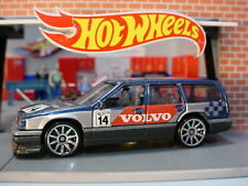 VOLVO 850 ESTATE ✰ blue wagon; red/silver;14 🏁Race Day✰ 2020 Hot Wheels LOOSE
