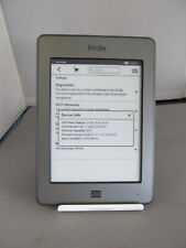 Amazon Kindle 4th Gen D01200 Touch Wi-Fi eBook reader grigio 06FG