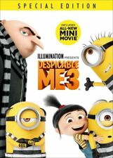 Despicable Me 3 (DVD, 2017) Sealed New comes with Slipcover Free shipping