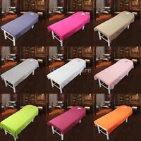 5Pcs Beauty Massage SPA Treatment Polyester Bed Table Cover Sheet 120x190cm