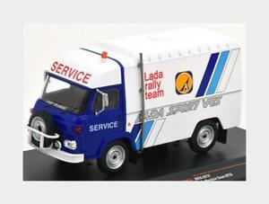 1:43 Ixo Avia A21F Van Team Vfts Lada Rally Assistance 1982 White Blue RAC293X M
