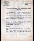 """Concessionnaire AUTOMOBILE CITROEN TRACTION AVANT """"CIRCULAIRE N°3.088"""" en 1949"""