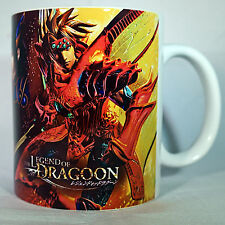 THE LEGEND OF DRAGOON - Coffee MUG CUP - RPG - Final fantasy 7