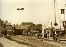 North Norfolk Postcard - Wells next the Sea - The Quay circa 1928 - WL25