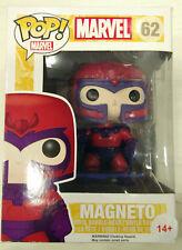 FUNKO POP Marvel Series; 62: Magneto (BROKEN CAJA) FIGURA