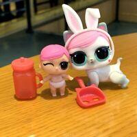 LOL Surprise LiL Sisters L.O.L DJ HIP HOP CLUB SERIES 2  color change doll D.J