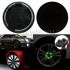 4Pcs 50mm Black Durable Car Hood Wheels Centre Blank Cap Hubcap Mounted Covers