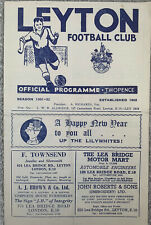 More details for leyton v dagenham  1951/52 london senior cup