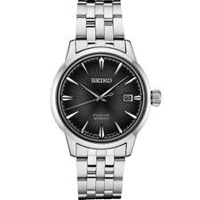 Seiko SRPE17 Men's Presage Cocktail Time Black Dial 40.5mm Case Automatic Watch