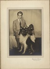 Mode gentleman Photo Sheridan & Henry Monroe New York USA Vintage ca 1920