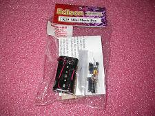 EDISON K19 MINI MUSIC BOX EDUCATION ELECTRONIC KIT PLAY 3 CHRISTMAS SONG NEW