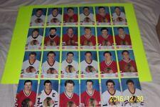 1986-87 Chicago Blackhawks Coke Cola SUTTER Larmer O'Callahan NHL Complete Set