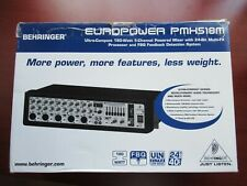 Behringer Pmp518M 5-Channel Powered Mixer with Multi-Fx Processor