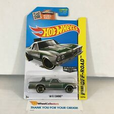 #12  '68 El Camino #122 * Zamac * 2015 Hot Wheels * WG9