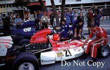 Niki Lauda BRM P160E Monaco GP 1973 Photograph 1
