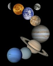 Solar System NASA Astronomy HD POSTER