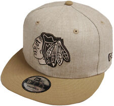 New Era Chicago Blackhawks Heather snapback Casquette 9 Fifty 950 Basecap NHL Men