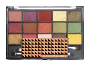 HARD CANDY Metallic Matte Eyeshadow Palette 15 Shades Earthy Vixen