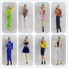 Lot 15 items= 5 Lovely Fashion Clothes/Outfit/Dress +10 shoes For 11.5in.Doll M5