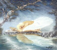 "SUPERB DAVID GARVEY ORIGINAL ""Ballet Dreams"" Dance OIL ON CANVAS PAINTING"