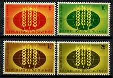 Guinea 1963 SG#379-382 Freedom From Hunger MNH Set #D58305