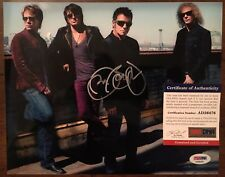 "Jon Bon Jovi SIGNED 8x10 ""BON JOVI"" color photo w/ PSA COA & hologram- AUTHENTIC"