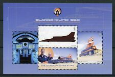 Isle of Man IOM 2017 MNH Bloodhound SSC Speed Record Project 2v M/S Cars Stamps