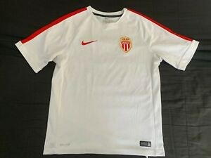 Maillot ASM AS Monaco entrainement Nike jersey size M