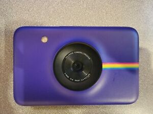 Polaroid Snap Purple Instant Digital Camera with Zink Ink Printing Technology