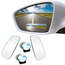 2 x Universal Car Wide Angle Convex 360° Rear Side View Blind Spot Mirror