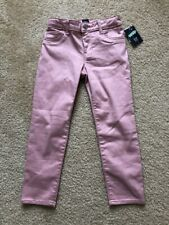 GAP Girls Pink Sparkle Jeggings / Stretch Jeans - Size 7 Regular - NWT - Cute!!
