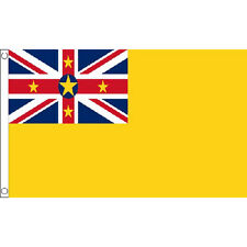 Niue Flag 5Ft X 3Ft Pacific Island National Country Banner With 2 Eyelets New