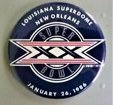 Super Bowl XX Superdome PIN - Rare