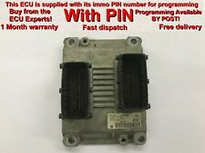 Vauxhall Opel Corsa C 1.2 16v Z12XE ECU 0261207423 24443796 AX  *With PIN*