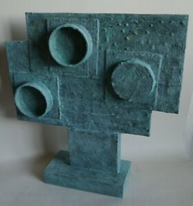 Retro abstract sculpture modernist influenced Bill Low