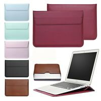 """Laptop Sleeve Bag Leather Case Pouch For MacBook Mac Air/Pro/Retina 11""""12""""13""""15"""""""