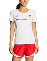 adidas Women's Germany Deutschland Euro 2016 Football Fan T-Shirt Casual Summer