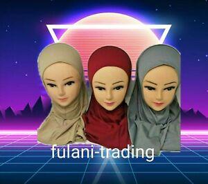 MUSLIM KIDS GIRLS/ HIJAB ISLAMIC HEADSCARF ONE PIECE CHILDREN