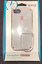 Authentic Speck SPK-A0810 CandyShell White Pink Cover For iPhone SE 5 5s Case